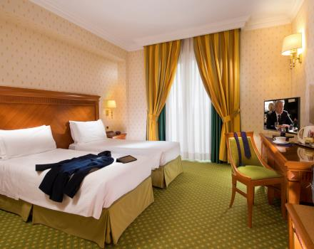 Experience the comfort of the standard rooms at the Best Western Hotel Viterbo