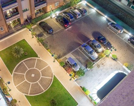 The Best Western Hotel Viterbo offers ample parking for your car!