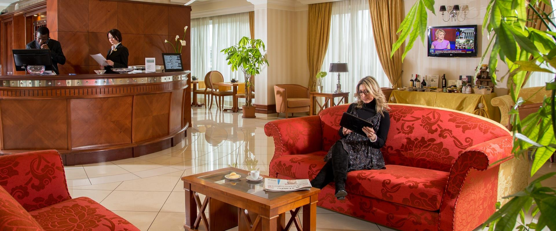 Discover the comforts of our 4-star hotel within walking distance from the centre of Viterbo