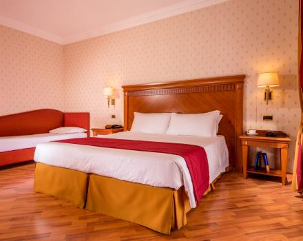 Discover the rooms of the BW Hotel Viterbo: For a 4-star stay with the family