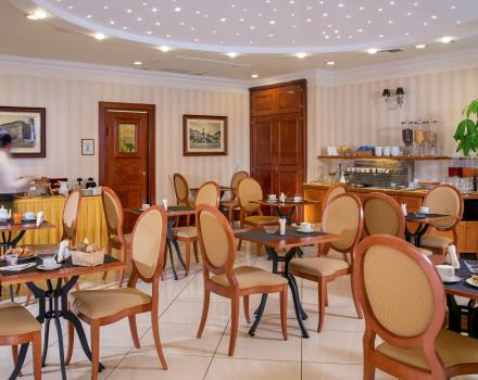 Enjoy a healthy and hearty breakfast in the 4-star BW Hotel Viterbo''s Room