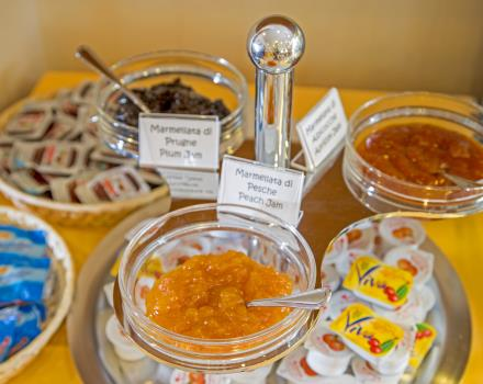 Try the products of the breakfast buffet of the BW Hotel Viterbo for the right morning charge
