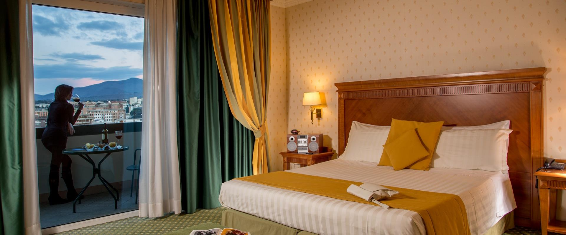 Discover the comfort of our deluxe rooms and book the BW Hotel Viterbo